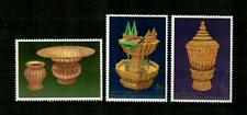 THAILAND Scott's 1674-76 Royal Utensils F/VF MNH ( 1996 )