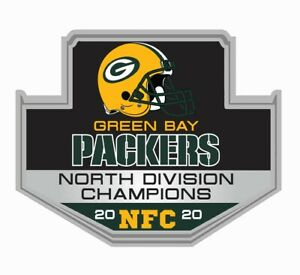 GREEN BAY PACKERS 2020 NORTH DIVISION CHAMPION NFC PIN SUPERBOWL SUPER BOWL 55 ?