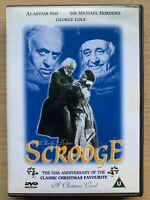 Scrooge DVD 1951 Charles Dickens Christmas Carol Movie Classic w/ Alastair Sim