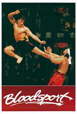 BLOODSPORT Movie POSTER 27x40 B Jean-Claude Van Damme Leah Ayres Roy Chiao