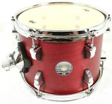 PDP Spectrum 8x10 Rack Tom Drum Satin Red Percussion Pacific Drums by DW