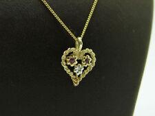 Echtschmuck-Halsketten Rubin für Damen