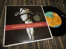 "DWIGHT YOAKAM THINGS WE SAID TODAY/TAKES A LOT TO ROCK YOU 7"" 1990 REPRISE EU"