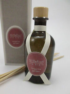 "Millefiori via brera 250 ml ""tangerine garden"" Stick Diffuser Raumduft Duft"