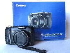 Canon Powershot SX110IS 9MP Digital Camera with 10x Optical Zoom, Good Condition