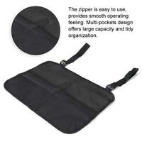 Brand New Wheelchair Side Storage Bag Multi-pocket Large Capacity Nylon Black