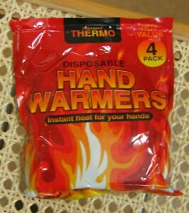 ** JOB LOT OF 4 packs** Disposable Hand Warmers