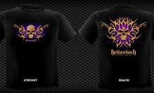 Hellanbach Bone Tribal Black long sleeve T-shirt Front and Back print 3X Large