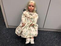 Künstlerpuppe Vinyl Puppe 67 cm. Top Zustand