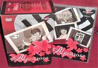 MANGA,ANIME ANNI 80 ALPENROSE-DVD 1,COFANETTO LIMITED BOX ALPEN ROSE ROSA ALPINA