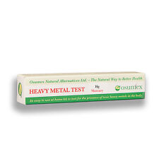 Osumex Mercury toxicity home kit for poisoning and contamination 1 test