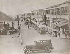 "NEWPORT BEACH Ocean View Avenue VINTAGE Cars Photo Print 965 11"" x 14"""