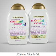 OGX Extra Strength Damage Remedy + Coconut Miracle Oil Shampoo & Conditioner Set