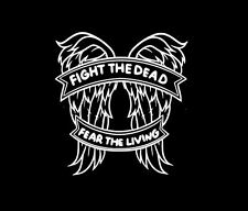 The Walking Dead Daryl Dixon Wings Fight the Dead Zombie Decal Sticker Bumper