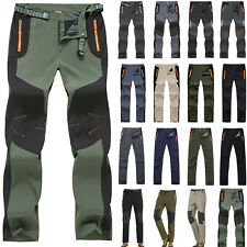 Men Hiking Climbing Quick Drying Trousers Tactical Combat Long Pants Windproof