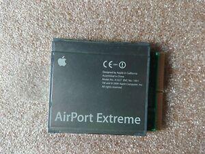 Apple AirPort Extreme WIFI Card A1027 PowerMac G5 PowerBook G4 iBook G4