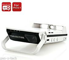 HDMI DLP LED Pocket Projector for iPhone 6 + 3000mAh External Battery PowerBank