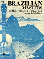The Brazilian Masters Learn to Play Samba Bossa Nova Guitar Music Book