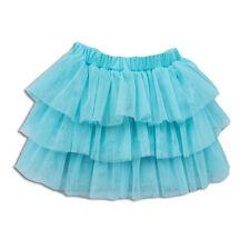 New Cute Girls Blue Rara Tulle Skirt 3-4 Years