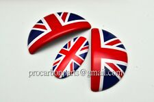 Union Jack MINI Cooper Aluminum Door Emblem for R55-R59 Coupe hardtop Roadster