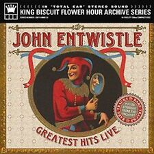 John Entwistle  Greatest Hits Live  King Biscuit Hour Archive Series  new  CD