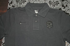 Nike Hommes Polo Shirt Angleterre Rugby nation taille S noir neuf avec étiquette