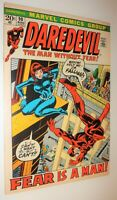 DAREDEVIL #90 BLACK WIDOW colan classic 1972 NM 9.2 PICTURE FRAME COVER