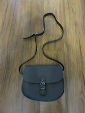 The Leather Satchel Co Medium Leather Sporran in Greystoke Granite - NEW RRP £85