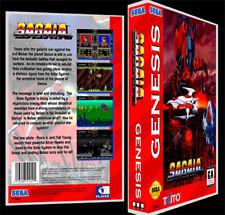 Sagaia - Sega Genesis Reproduction Art Case/Box No Game.