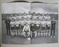 BILD Poster 28 x 20 cm 1.FC Magdeburg 1986/87 DDR Oberliga FCM DDR Pokalsieger
