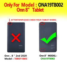 "Only For Onn 8"" Model:Ona19Tb002 ShockProof Hybrid Case Not Fit Other Onn8 Model"