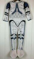 Halloween Costume Star Wars Stormtrooper Jumpsuit Youth Boys Medium M Rubie's