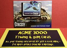Unstoppable Gerry Anderson STINGRAY - Genuine Mint Postage Stamp Card PS1 (A)