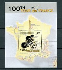 Grenadines Grenada 2013 MNH Tour de France 100th 1v S/S Cycling Sports Stamps
