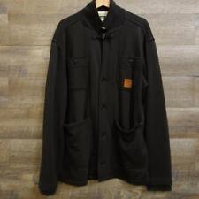 G-star Raw Mens Jacket Coat Cotton Polyester Black Size XXL
