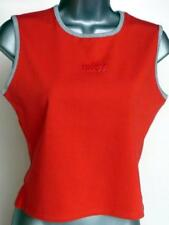 NIKE WOMENS RUNNING GYM FITNESS TANK TOP, RED SLEEVELESS TOP, VEST SIZE 10, 12
