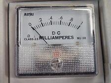 Panel Meter 1mA fsd Scaled 0-1 Milliamperes  50x45mm MU38-1mA     738