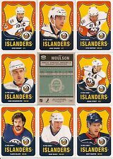 2010-11 OPC O-Pee-Chee Retro New York Islanders Complete Team Set (22)