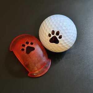 Paw Print Golf Ball Marker