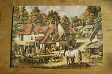 Vintage Victory Gold Box wooden 500 piece jigsaw puzzle Mill House