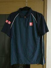 UNIQLO Tennis Shirt Medium Japan Kei Nishikori Roland Garros Roger Federer polo