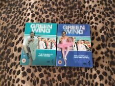 Green Wing Series 1 And 2 DVD Set Very Good Condition