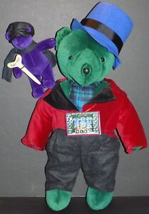 NABCO VERY IMPORTANT BEARS BEARB CRATCHIT AND TINY TED A CHRISTMAS CAROL