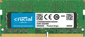 Crucial 16GB DDR4-2400 PC4-19200 SoDIMM Laptop Memory CT16G4S24AM.M16FH
