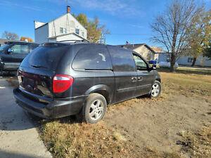 01-07 Dodge Caravan Parking Brake Handle release w Linkage Rod Dash Mounted