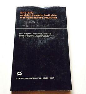 Masterli modello di assetto territoriale e di localizzazione industriale 1974