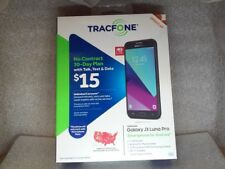 NEW TracFone Samsung Galaxy J3 Luna Pro 4G 16GB 5MP Bluetooth WiFi Android 6.0