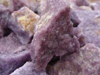 Natural Lepidolite Rough Crystal Gemstones - 1 Specimen