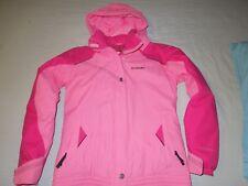 Columbia Youth 18/20 Pink Ski Jacket Coat Waterproof Omni-Shield