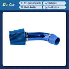 """Premium Cold Air Intake Filter System Induction Kit Pipe Hose  3"""" Auto Universal(Fits: More than one vehicle)"""
